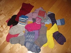 Scientists need look no further for dark matter. It's our socks. (Photo credit  SeppVei via Wikimedia Commons)