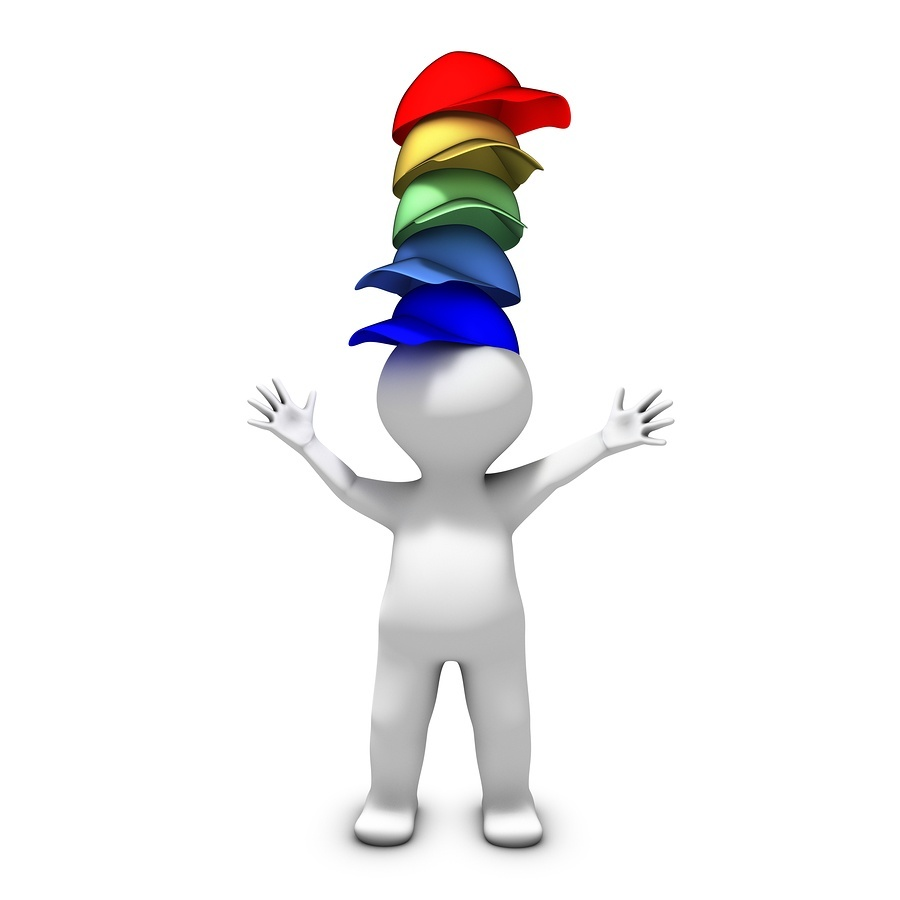 bigstock-Wearing-many-hats-29375450