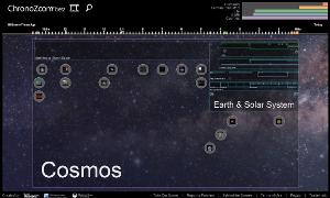 ChronoZoom site screenshot